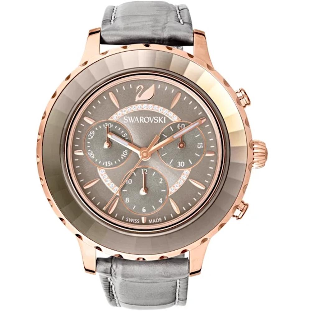 SWAROVSKI施華洛世奇Octea Lux Chrono手錶(5452495)-灰