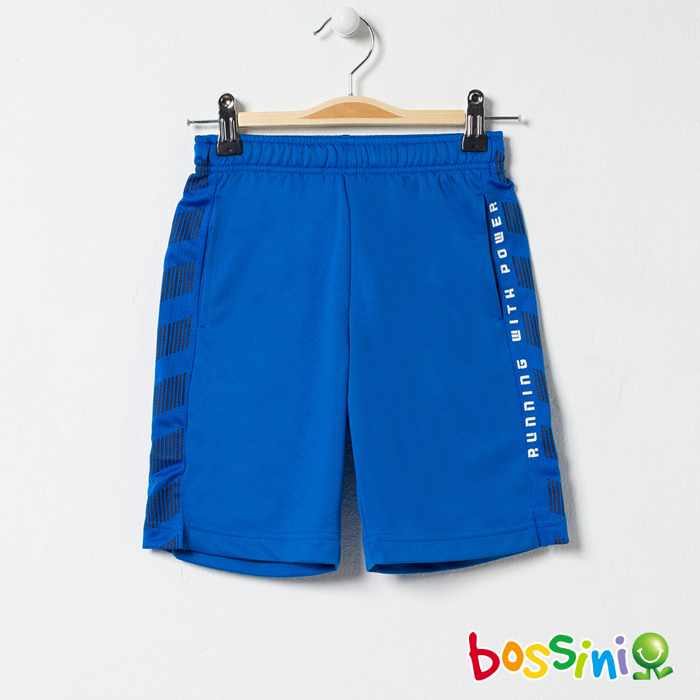 bossini男童-ZtayDry快乾短褲03淡藍