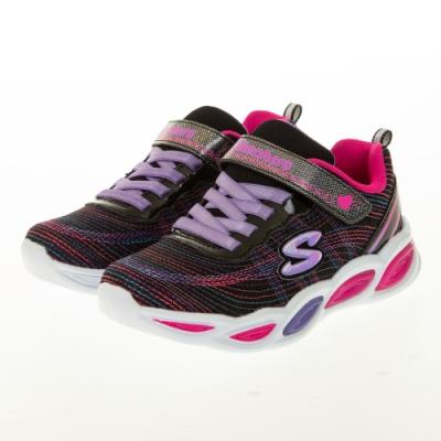SKECHERS 女童系列 SHIMMER BEAMS 燈鞋 - 20300LBKMT