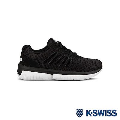 K-Swiss Tubes Infinity休閒運動鞋-童-黑/白