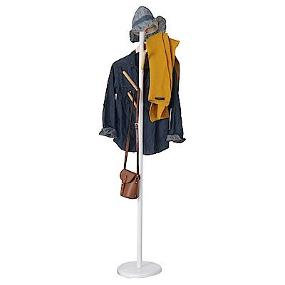Homelike 單純樹狀衣帽架(二色) 28x28x170cm