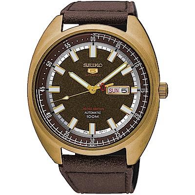 SEIKO 5號24石盾牌限量機械腕錶 4R36-06E0K SRPB74J1