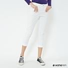 Hang Ten - 女裝 - 純色微彈休閒長褲 - 白