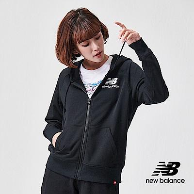 New Balance 連帽外套_AWJ91524BK_女性_黑色