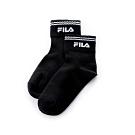 FILA 棉質薄底短襪-黑 SCT-5002-BK