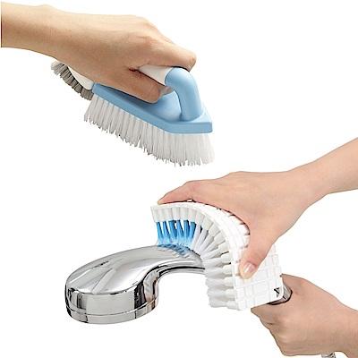 日本aisen(兩用式+可彎曲)衛浴清潔刷具組
