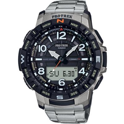 CASIO PRO TREK藍牙連結功能登山錶(PRT-B50T-7)