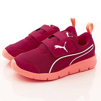 PUMA童鞋 輕量簡約款 89764-05紅(中童段)-0-21