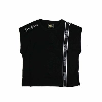 NBA Style C S T-SHIRTS 女 彈性織帶 背心 馬刺隊