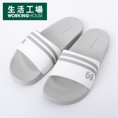 【生活工場】Top Gym運動拖鞋-灰(37)