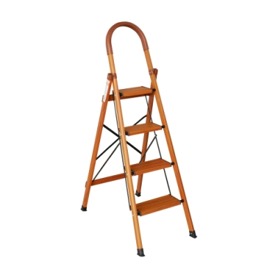 TRENY 木紋加寬扶手梯 - 四階