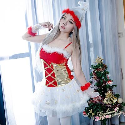 聖誕裝 聖誕禮物聖誕服角色扮演聖誕裝 跨年尾牙表演服 流行E線