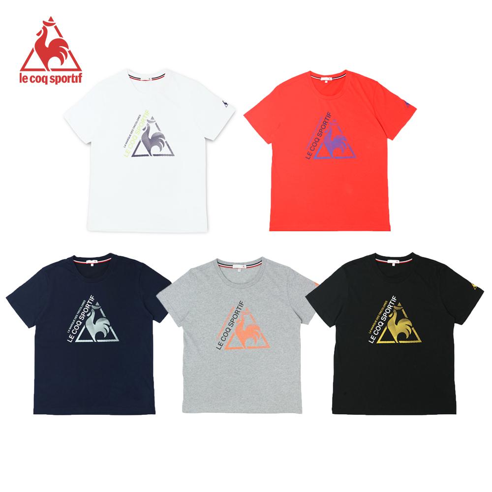 法國公雞牌短袖T恤 LWL23106-中性-5色