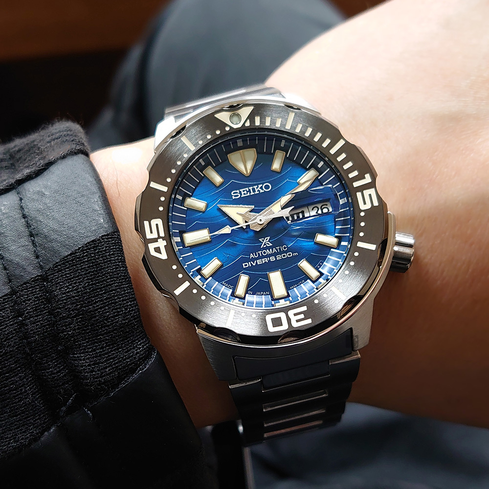 SEIKO 精工 Prospex DIVER SCUBA 愛海洋機械錶(SRPE09J1)