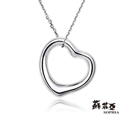 蘇菲亞SOPHIA - 簡愛純銀項鍊