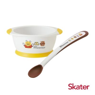 Skater幼童餐碗+湯匙 (維尼)