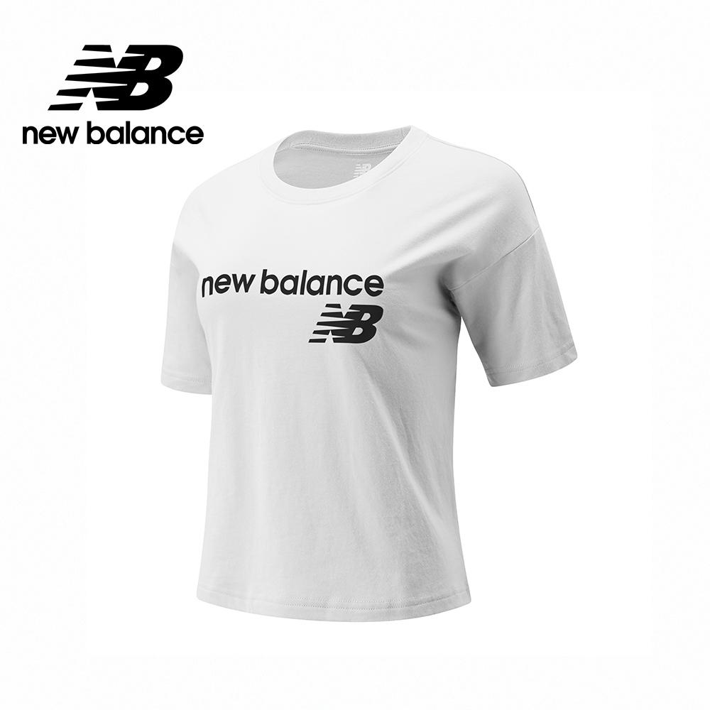 [New Balance]NB短袖上衣_女性_白色_WT03805WT (官方網路獨家款)