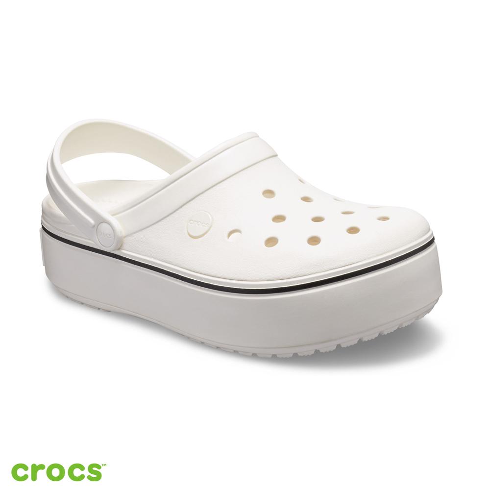 Crocs 卡駱馳 (中性鞋) 厚底卡駱班 205434-143