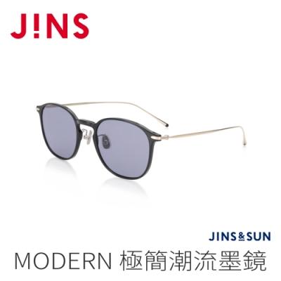 JINS&SUN MODERN 極簡潮流墨鏡(AUUF21S121)經典黑