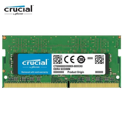 美光 Crucial NB-DDR4 3200/16G 筆記型RAM(原生3200顆粒)