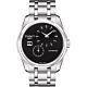 TISSOT Couturier 建構師偏心系列機械腕錶-黑/39mm T0354281105100 product thumbnail 1