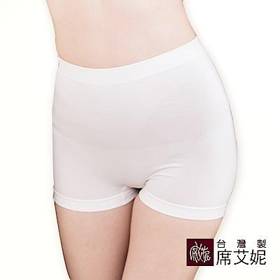 席艾妮SHIANE 台灣製造 超彈力舒適平口內褲 可當安全褲 內搭褲(5件組)