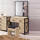 【AS】岱爾橡木2.5尺鏡台(含椅)-75x42x157cm product thumbnail 1