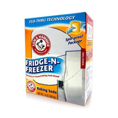 美國 A&H 小蘇打粉-冰箱消臭盒 14oz