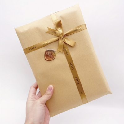感謝慶加開【免費客製化】-黃銅短鋼+筆記本限定商品組合