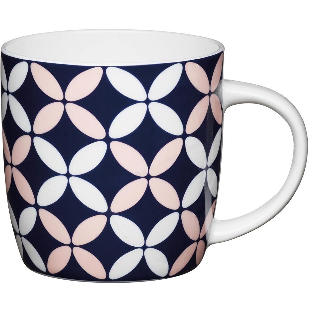 《KitchenCraft》骨瓷馬克杯(四瓣花425ml)