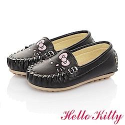 HelloKitty親子鞋童鞋 柔軟減壓防滑休閒鞋-黑