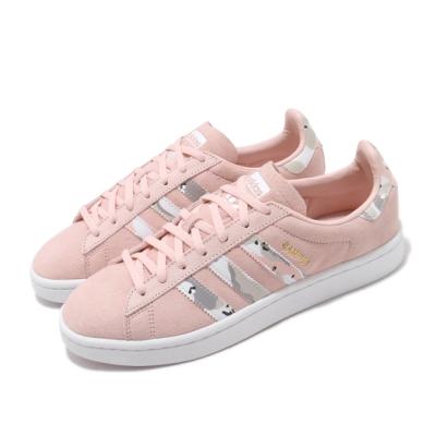 adidas 休閒鞋 Campus 復古 低筒 女鞋