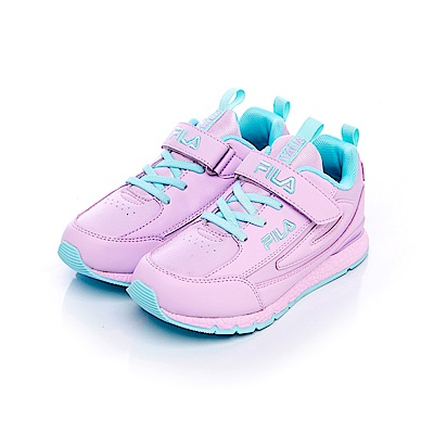 FILA KIDS大童復古MD慢跑鞋-紫 3-J809S-993
