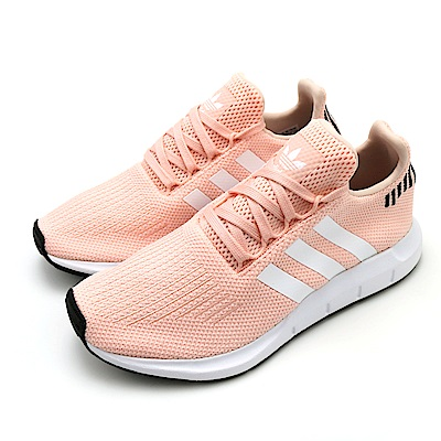 ADIDAS SWIFT RUN W 女休閒鞋 B37681 粉