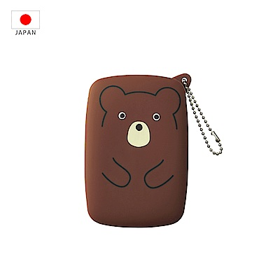 【日本PuniLabo】SMART FIT 隨身小物收納包 咖啡熊