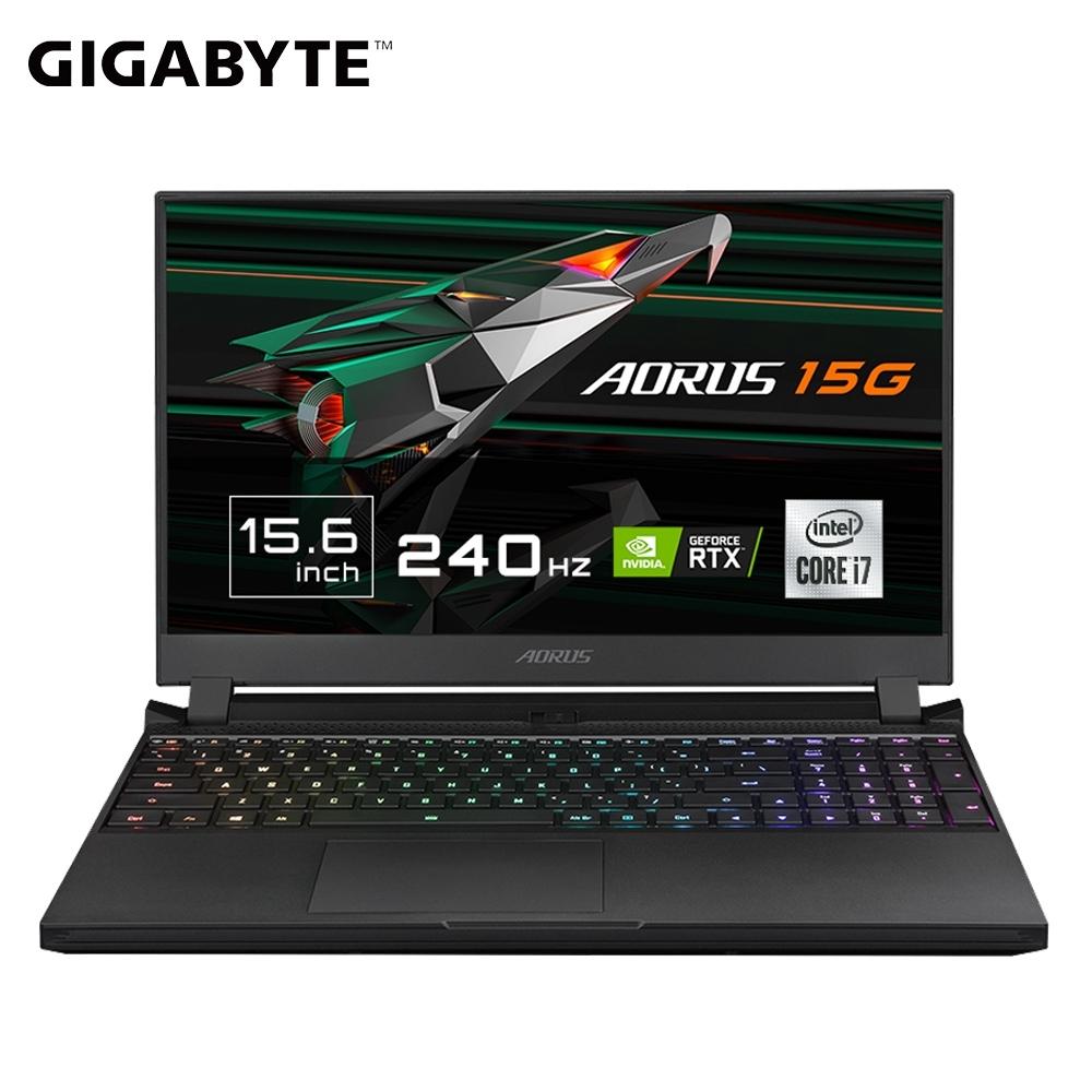 GIGABYTE 技嘉 AORUS 15G KC 15.6吋電競筆電(i7-10870H/RTX3060/16G/512G SSD/240Hz)
