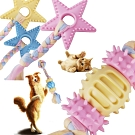 寵愛有家-星星雙截棉繩耐咬耐磨寵物訓練玩具2入組(寵物玩具)
