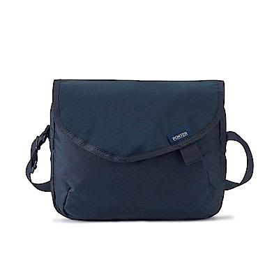 PORTER - 質感輕盈AIRY輕量型格斜背包 - 深藍