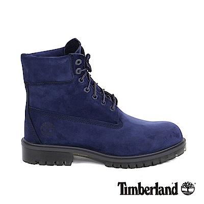 Timberland 男款深藍色絨面TPU款6吋靴   A1LZ4G73