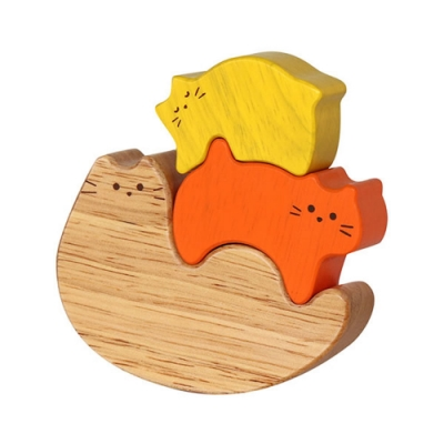 日本Ed-Inter - 木玩系列(貓咪平衡遊戲)