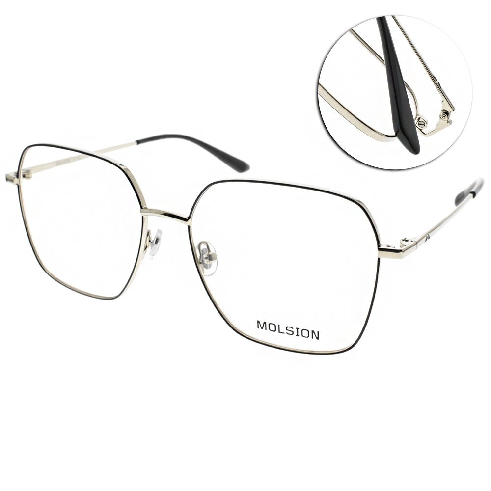 MOLSION 光學眼鏡 Angelababy代言 黑-槍 #MJ7088 B15
