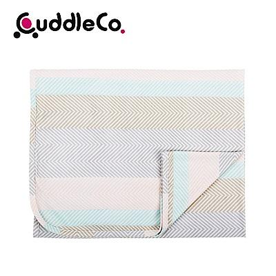 英國CuddleCo 竹纖維寶寶四季毯90x70cm-北歐條紋