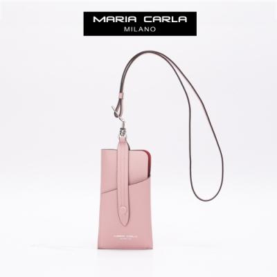 【Maria Carla】都會實用手機證件夾_珍珠粉_都會極簡系列