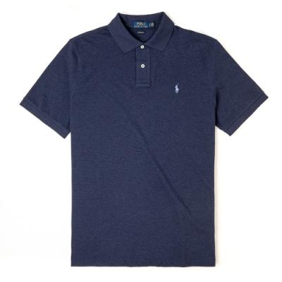 Polo Ralph Lauren 經典電繡小馬Polo衫 (Classic)-藍色