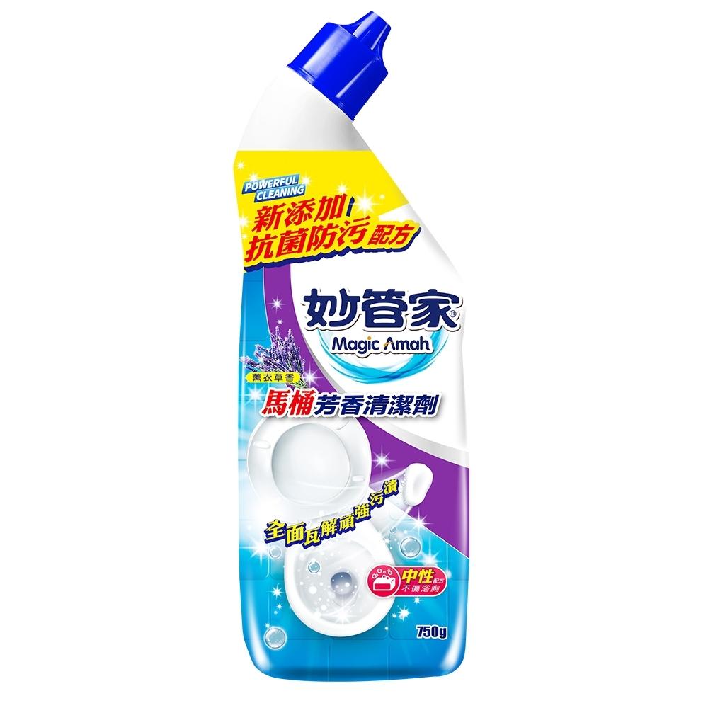 【妙管家】馬桶芳香清潔劑-薰衣草香750g