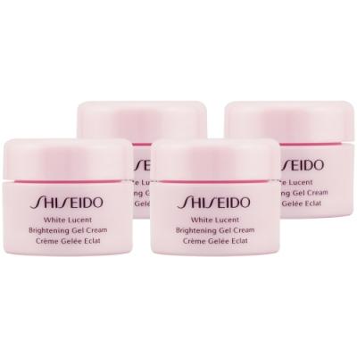 (即期品)SHISEIDO資生堂 激透光水乳霜5ml*4(效期至2021年10月)