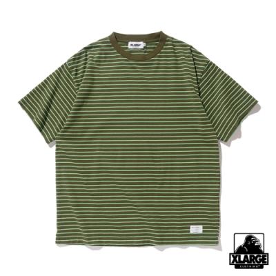 XLARGE S/S BORDER TEE短袖T恤-綠