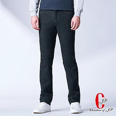 Christian 嚴選品質刷毛水洗牛仔褲_牛仔藍(HW776-3)