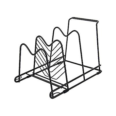 【Incare】雙面擺放-免釘多功能廚房收納架(1入)