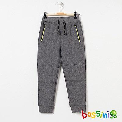 bossini男童-針織棉長褲03灰